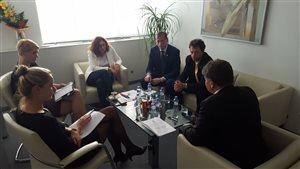 Rokovanie s ministerkou k rozpočtu školstva