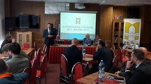 Medzinárodné stretnutie odborárov Slovensko + Česko + Poľsko v Kežmarských Žľaboch
