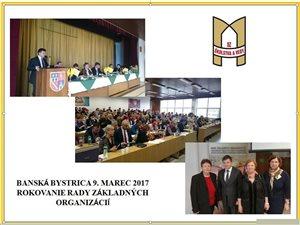 Rokovanie predsedov ZO OZ PŠaV Združenia SŠ krajov B.Bystrica, Trenčín, Žilina