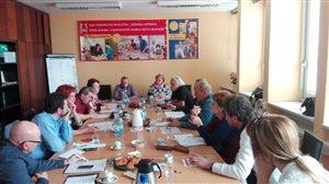 Rokovanie  výboru profesijnej sekcie pedagogických zamestnancov gymnázií Združenia stredného školstva
