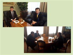 Rokovanie s predsedom NR SR Andrejom Dankom